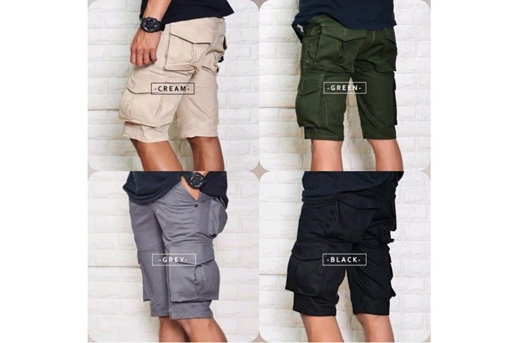Rekomendasi celana pendek pria keren dan murah (Foto: Shutterstock)